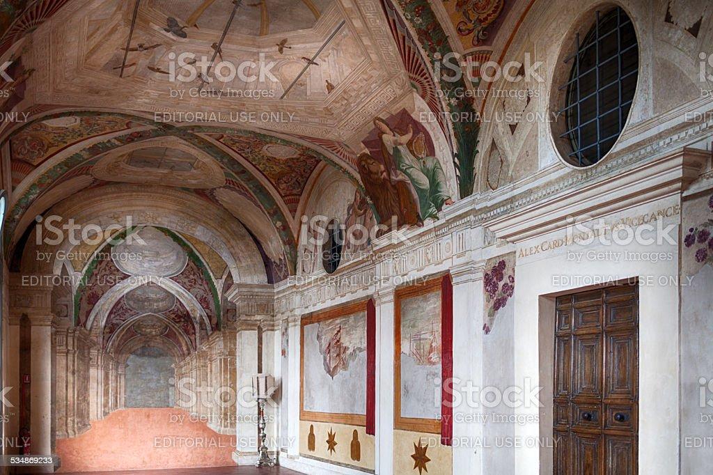 Casino Montaldo Villa Lante Bagnaia Italy stock photo