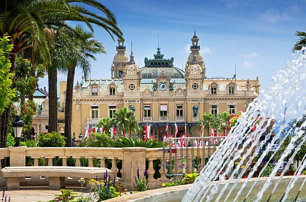 Casino, Monte Carlo, Monaco stock photo
