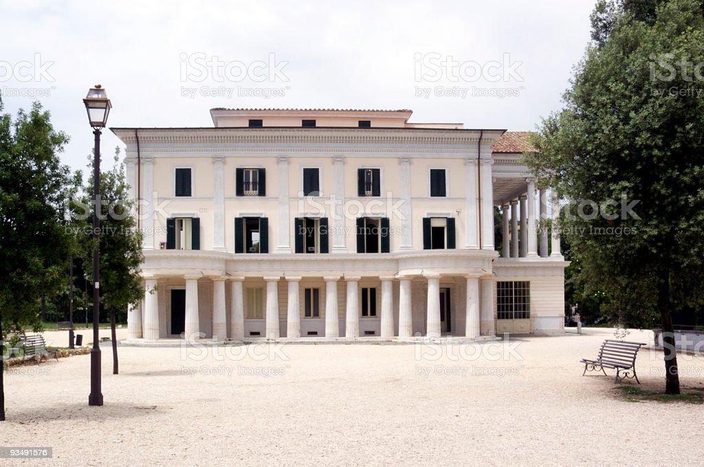 Casino Nobile in Villa Torlonia, Rome Italy