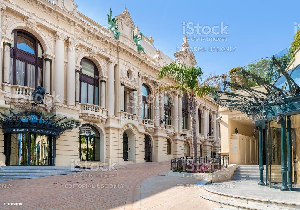Casino of Monte Carlo, Monaco. stock photo