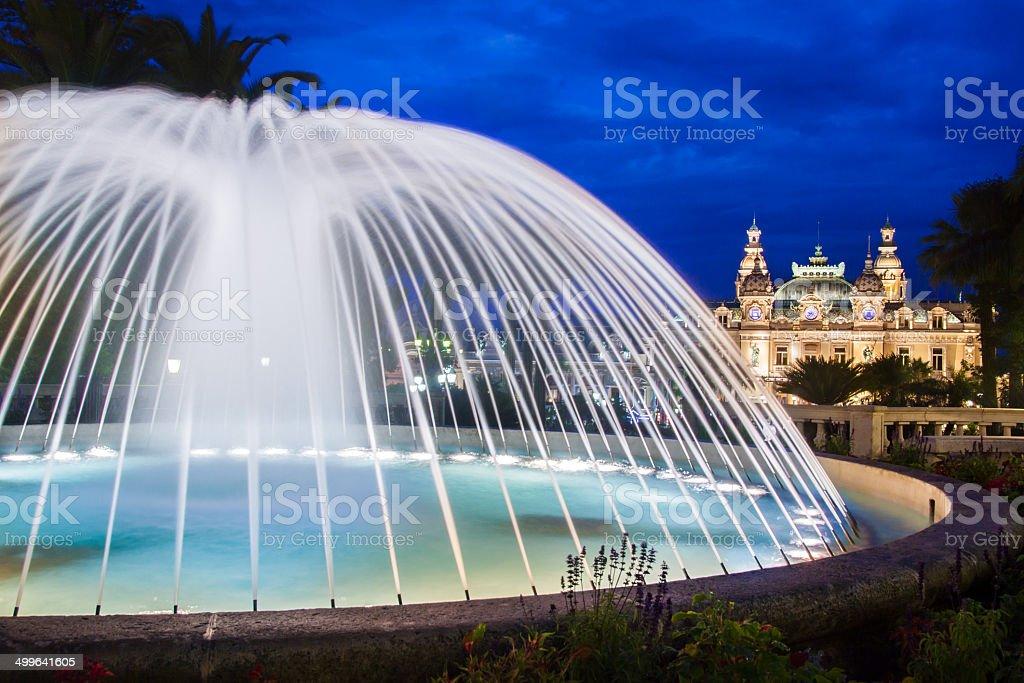 Casino of Monte Carlo. stock photo