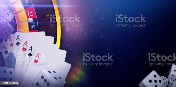 Casino Online Gaming Banner Stock Photo - Download Image Now - iStock