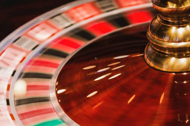 Casino Roulette in Gang. – Foto
