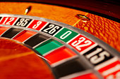 casino roulette numbers, close up, wooden,gambling, fortune games, prize winning, slots