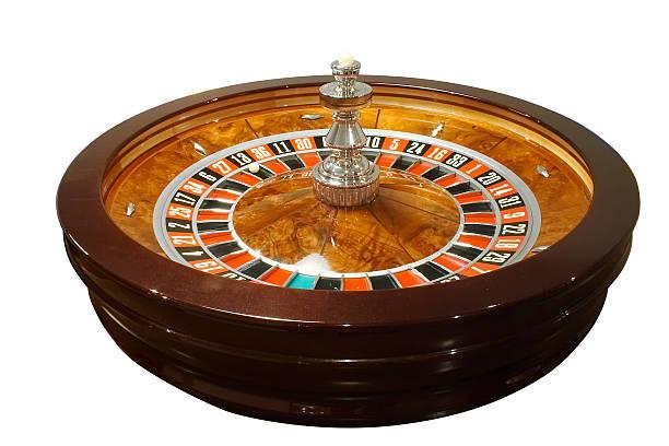 Casino, roulette stock photo