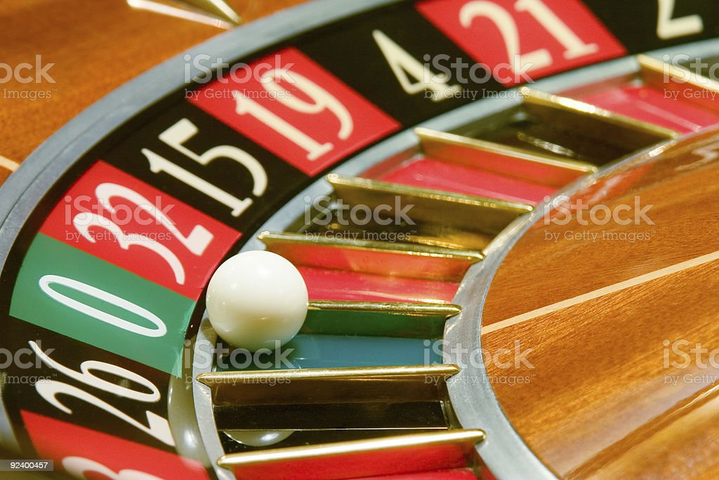Casino, roulette #1 royalty-free stock photo