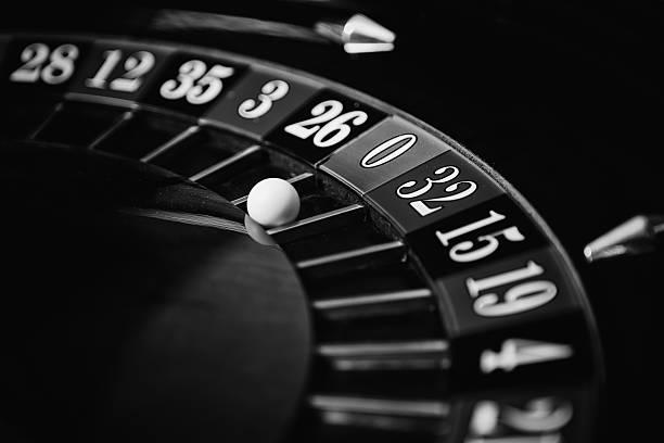Casino - Roulette Wheel stock photo