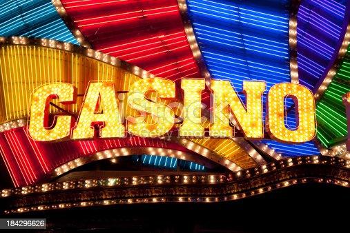 istock Casino Sign 184296626