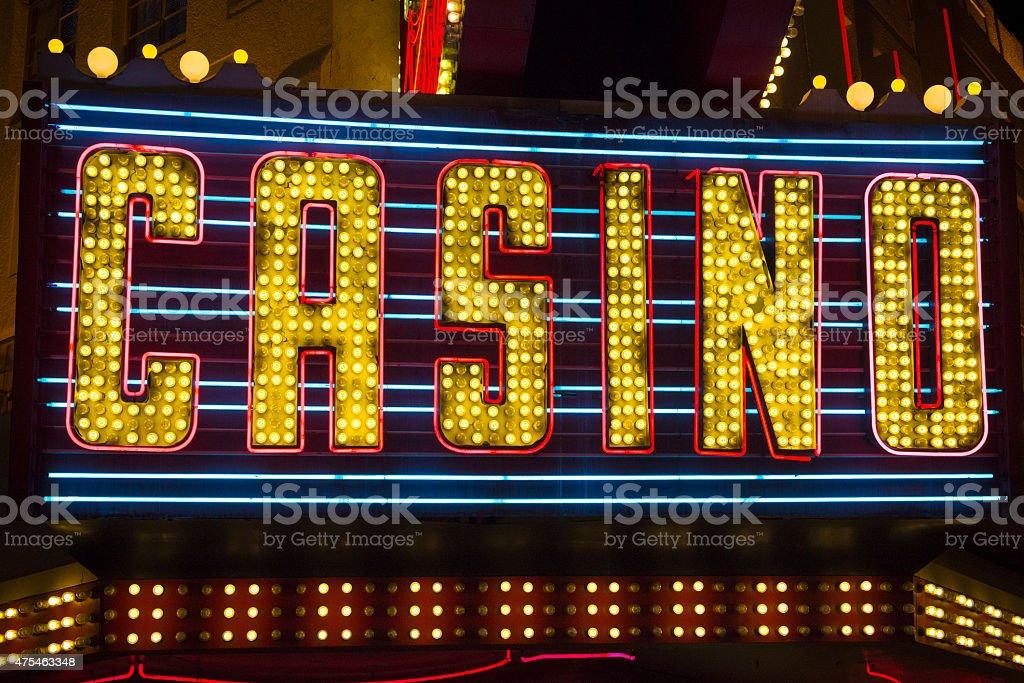 Casino Schilder
