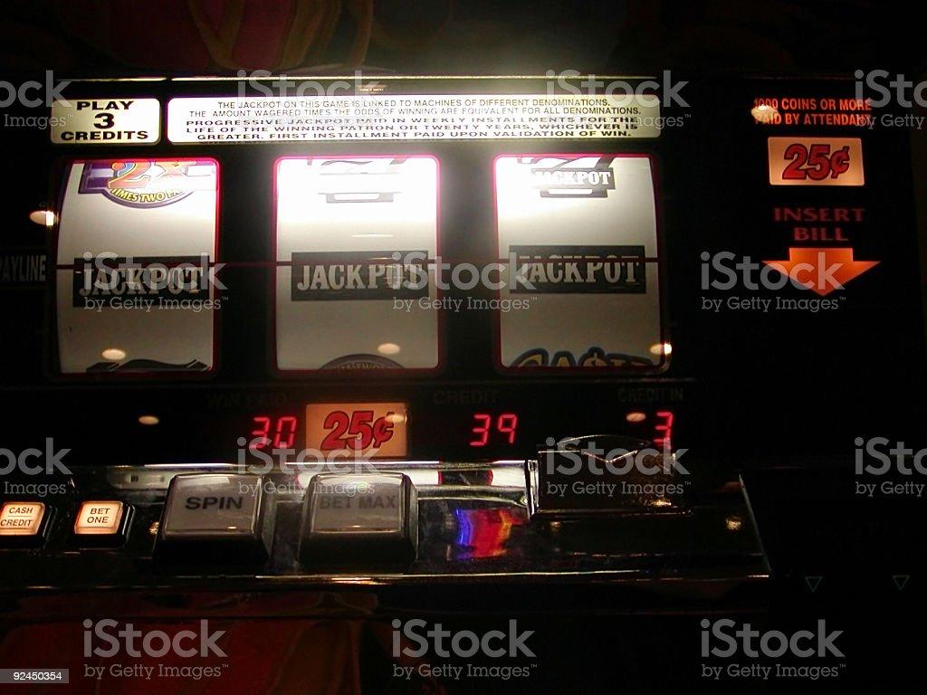 Casino Slots royalty-free stock photo