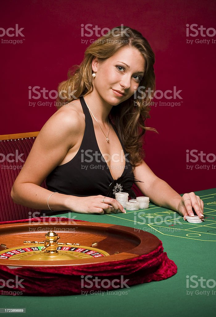 Casino Temptation royalty-free stock photo