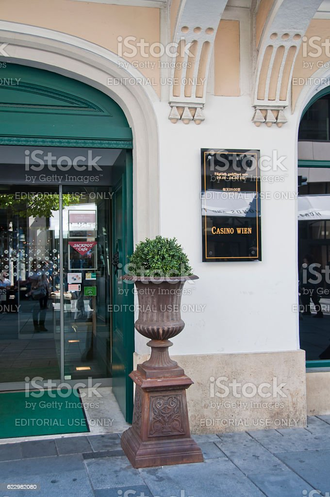 Casino Wien In The Central Vienna Stock Photo More Pictures Of