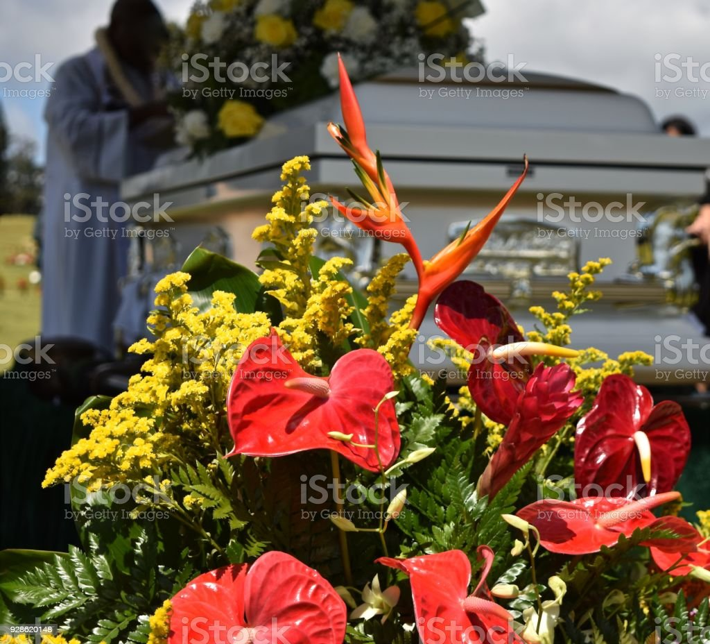 Casket At A Funeral Stock Photo More Pictures Of Absence Istock