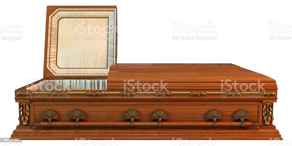 Casket royalty-free stock photo