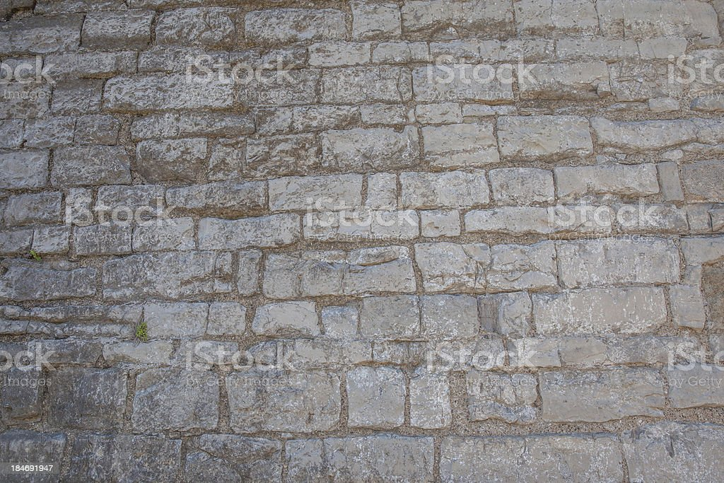 Casle wall stock photo
