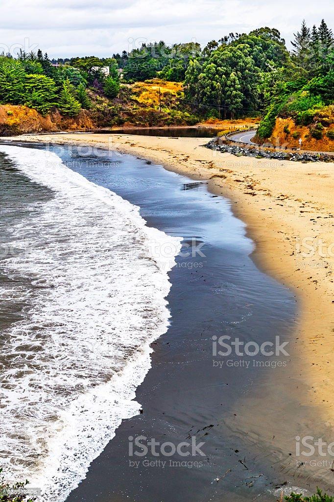 Caspar Beach, Mendocino, California USA stock photo