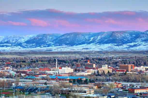 Casper, Wyoming stock photo