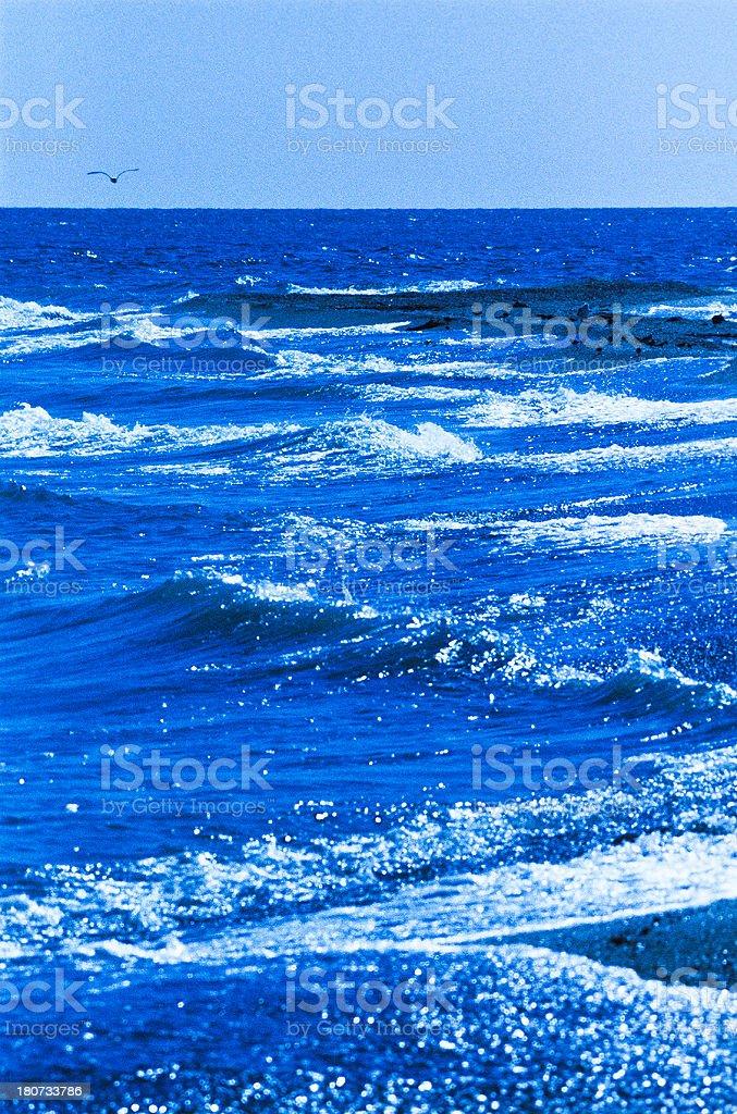 Caspian Sea royalty-free stock photo