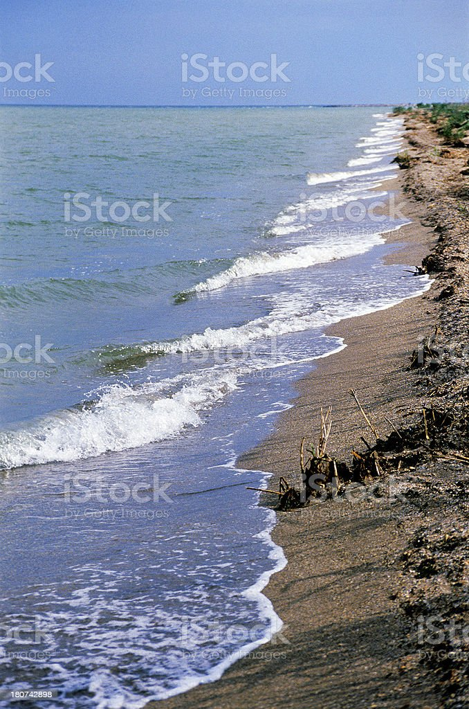 Caspian Sea. royalty-free stock photo