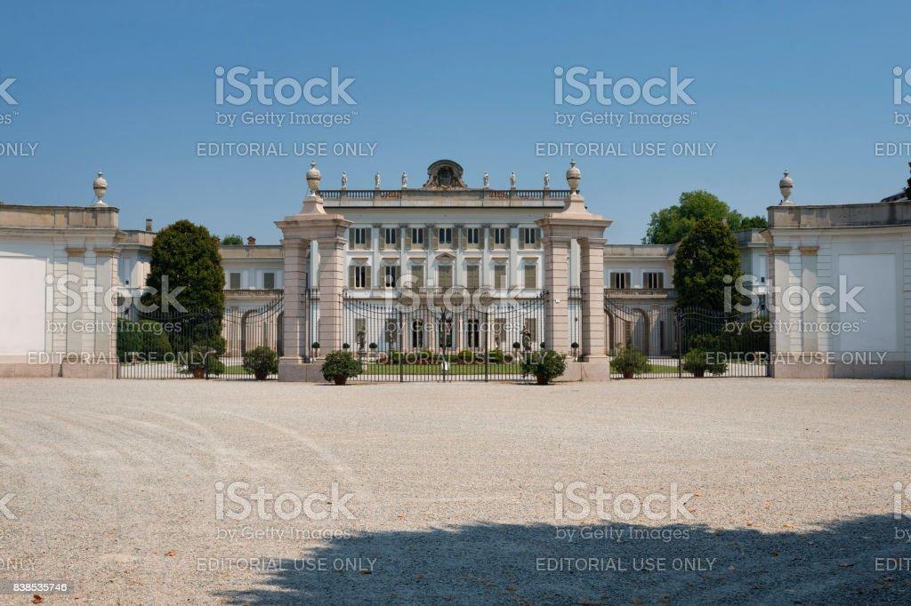Cassano d'Adda (Milan, Italy): Villa Borromeo stock photo