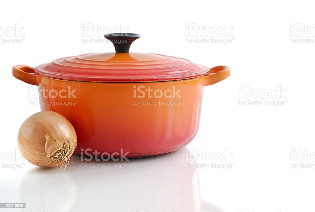 Casserole Dish royalty-free stock photo