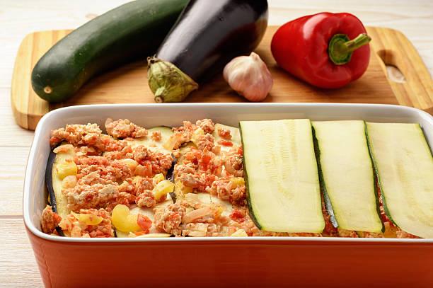 Casserole with chicken eggplant zucchini and tomatoes cooking process picture id619396572?b=1&k=6&m=619396572&s=612x612&w=0&h=i1ajw5x gqtngj7m6uftxzo1a3bglehbktadp2e aei=