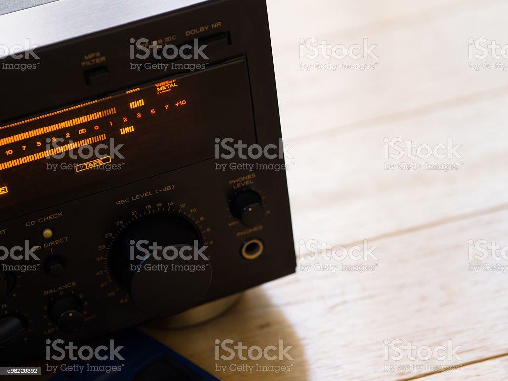 cassette deck foto royalty-free