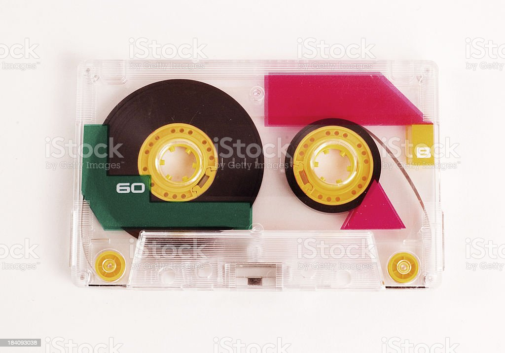 Cassette Mix Tape royalty-free stock photo
