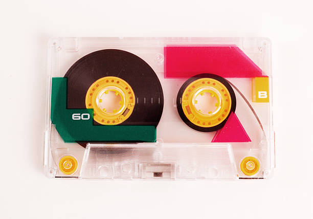 Cassette Mix Tape stock photo