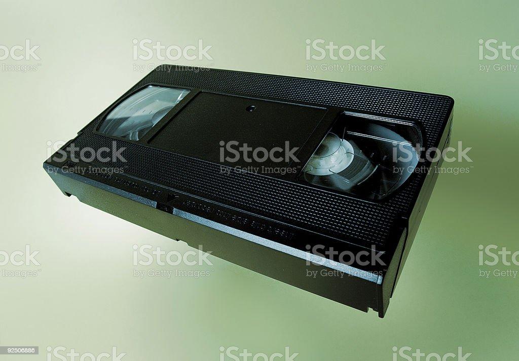 VHS cassette royalty-free stock photo