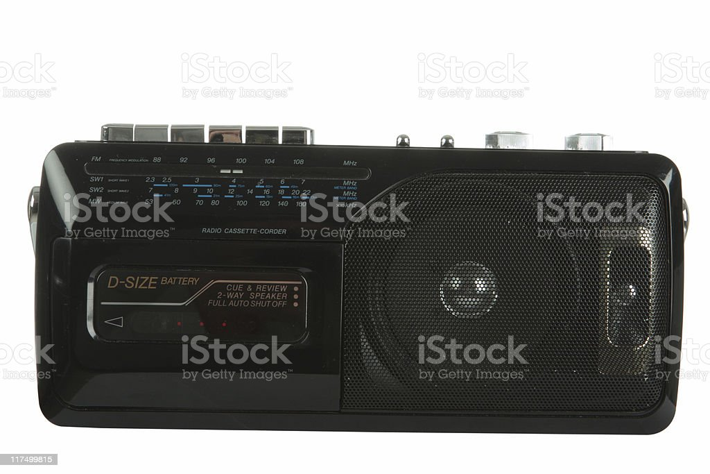 cassette player royalty-free stock photo