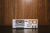 istock Cassette Player Stereo in Retro Style 667969938