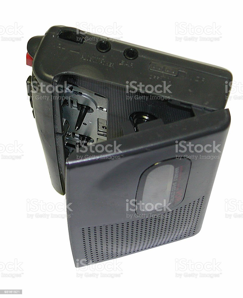 Cassette Recorder royalty-free stock photo