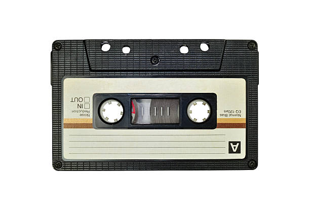 Cassette tape, isolated on white Photo of cassette tape, isolated on white tape stock pictures, royalty-free photos & images