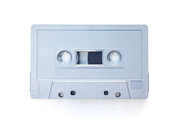 Cassette Tape on white background Cassette Tape on white background audio cassette stock pictures, royalty-free photos & images