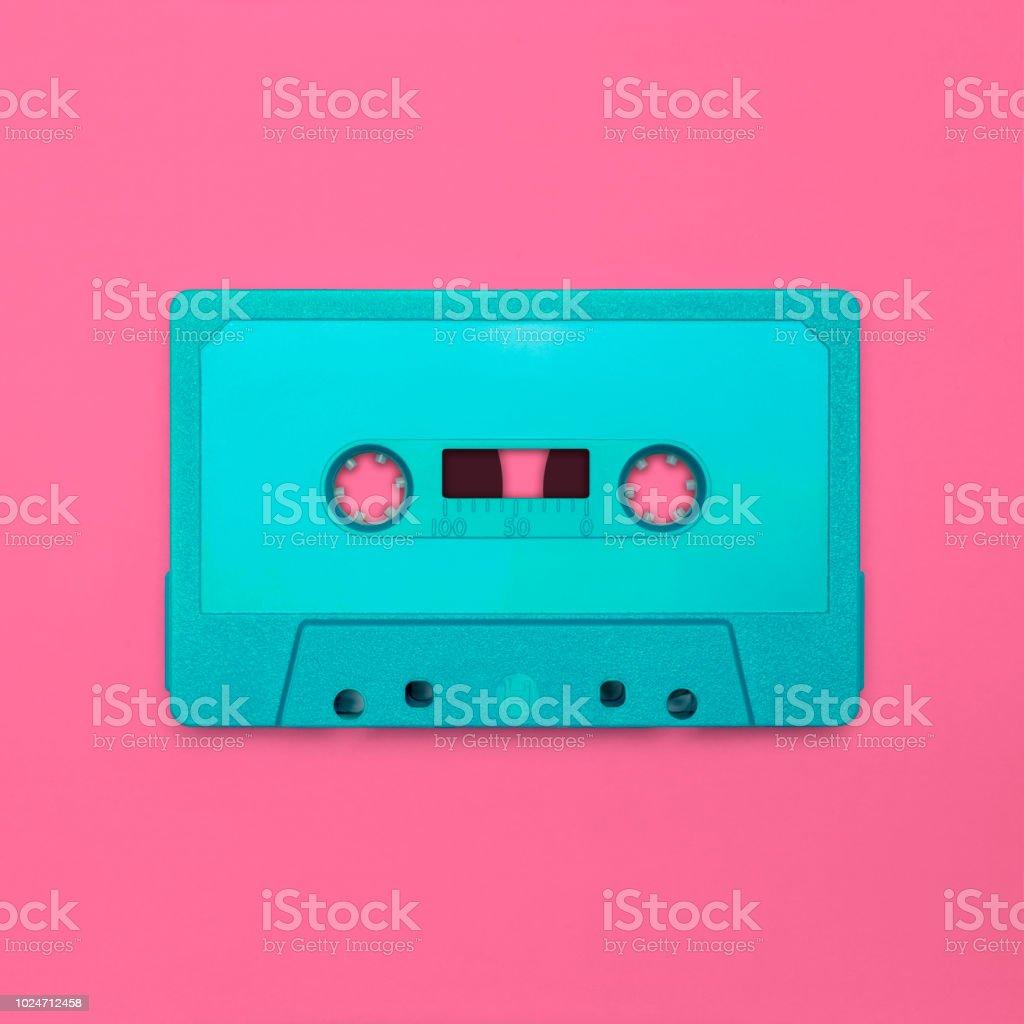 Cassette tape stock photo