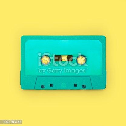 istock Cassette tape 1091783184