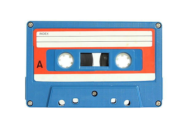 Cassette Tape Cassette Tape isolated on white with clipping path audio cassette stock pictures, royalty-free photos & images