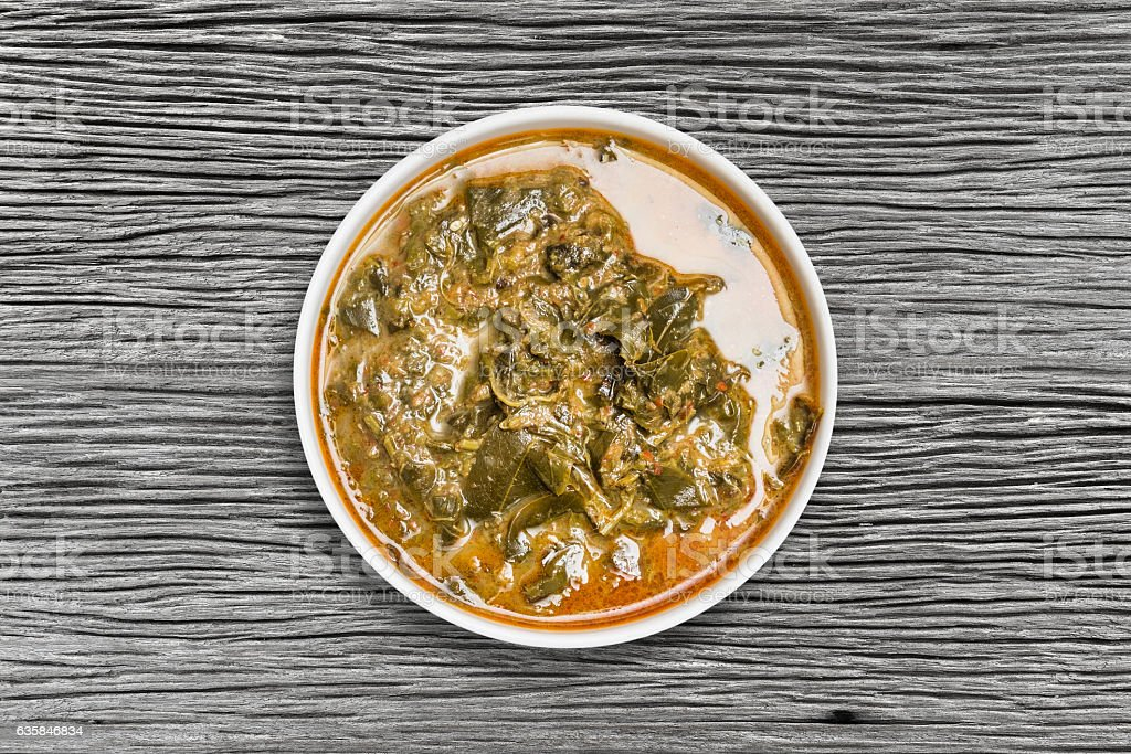 cassia leaves curry stock photo