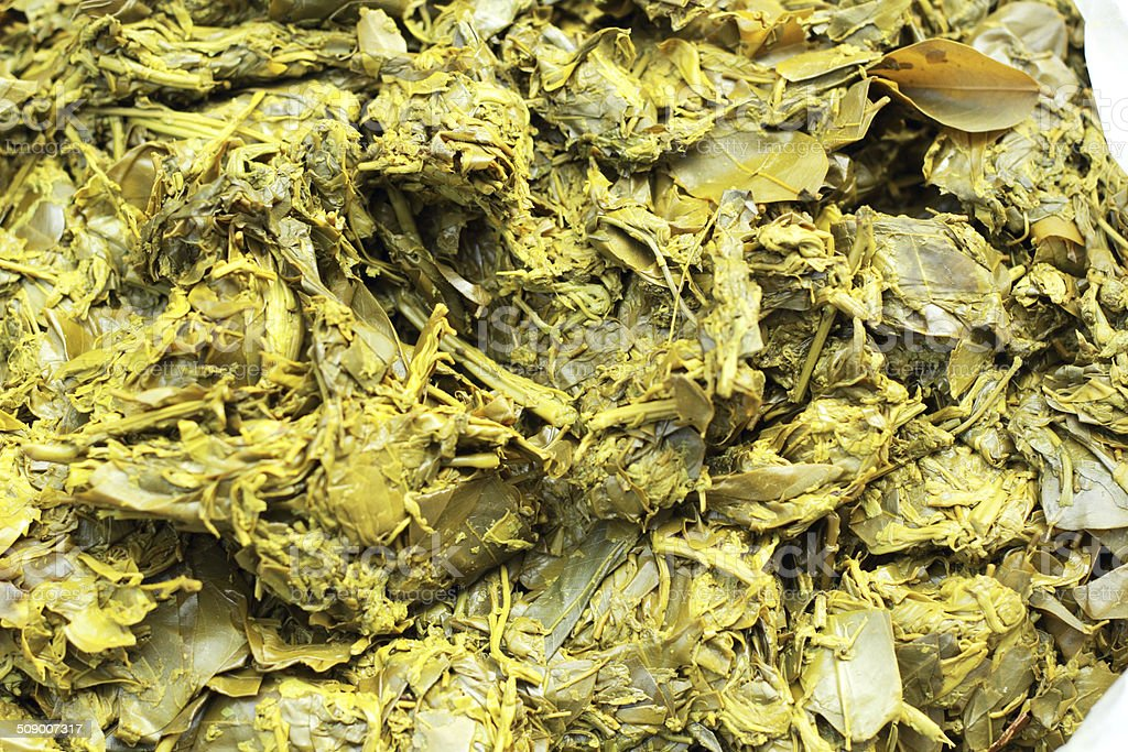 Cassia vegetables for curry cooked royalty-free stock photo