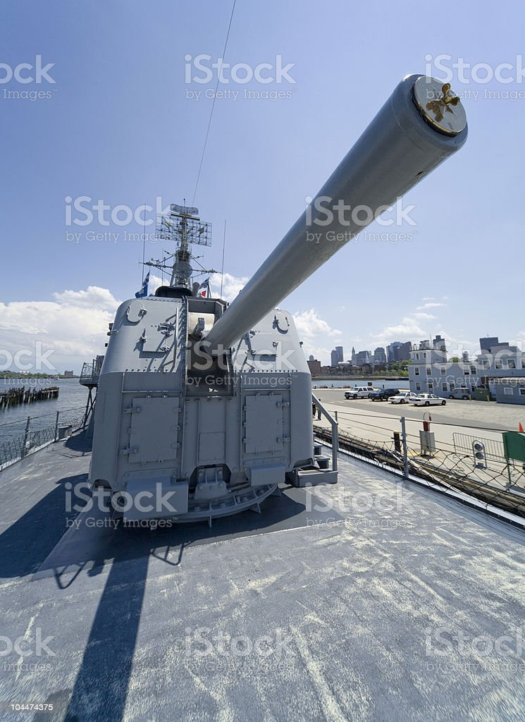 USS Cassin Young royalty-free stock photo