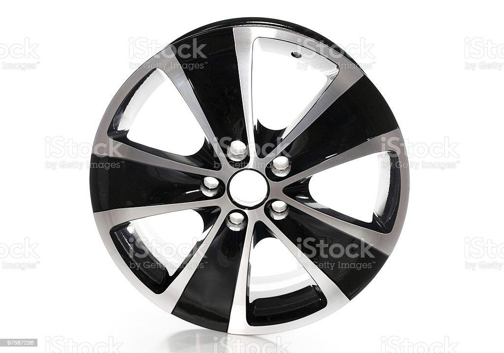 Cast disk for the car royaltyfri bildbanksbilder