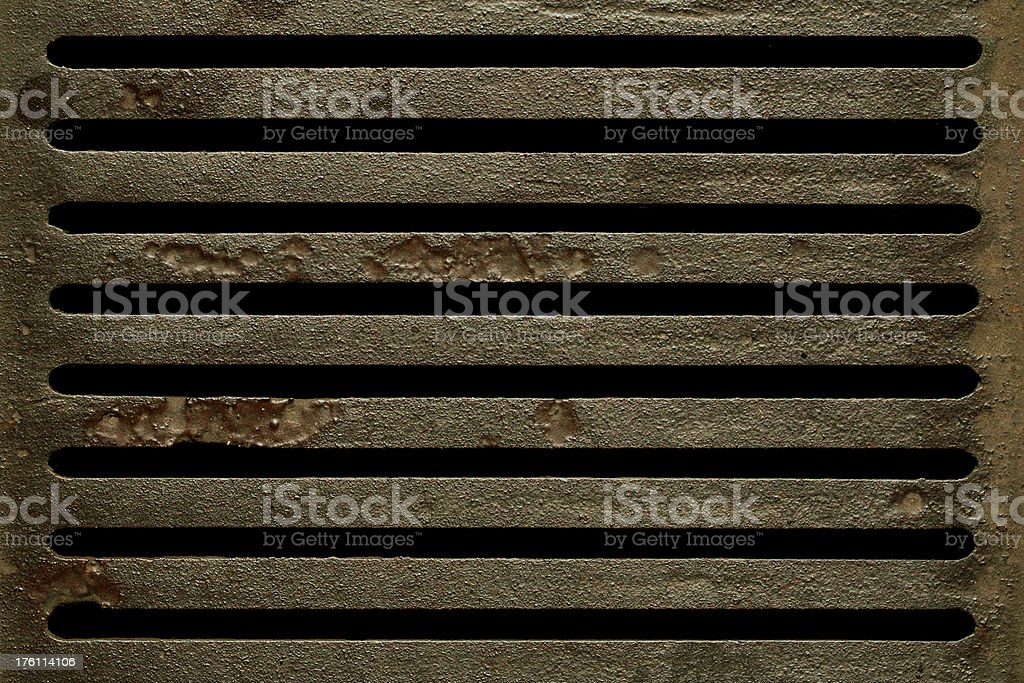 Cast Iron Bars stock photo