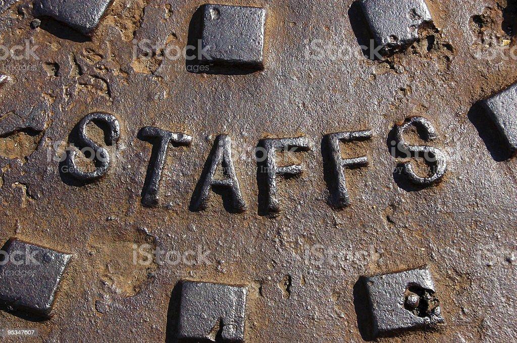 Cast Iron Staffordshire royalty-free stock photo