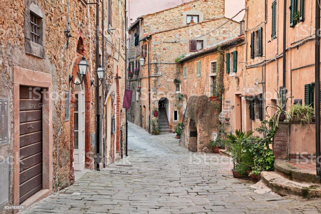 Castagneto Carducci, Leghorn, Tuscany, Italy - foto stock