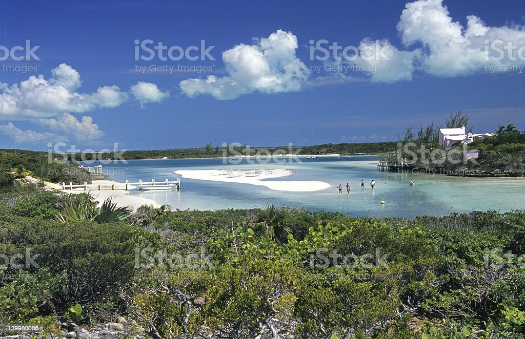 Castaways stock photo