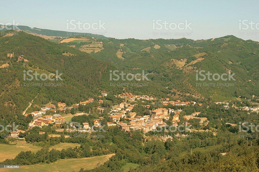 Castel del Rio - Italian Mountain Village stock photo