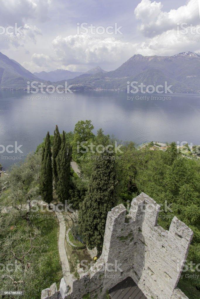 castel di vezio varenna italy royalty-free stock photo