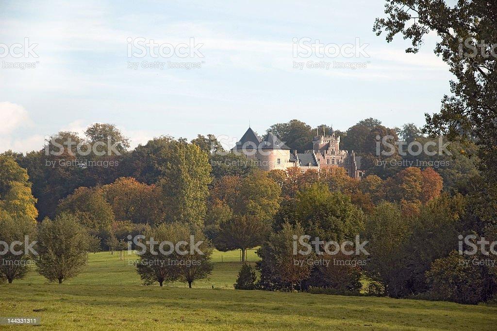 Castel Gaasbeek, Belgium stock photo