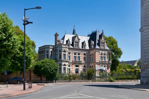 Castel Marie Antoinette in Chalons-en-Champagne stock photo